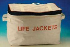 Quality Lifejacket Life Jackets White Storage Bag Boat Yacht Sailing P61