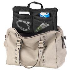 Xcase Handtaschen-Organizer m. 13 Fächern, 29 x 17 x 8 cm, waschbar, schwarz
