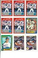 Lot 3 of (54) Juan Gonzalez Cards w/ Rookies RC and Inserts MLB Texas Rangers