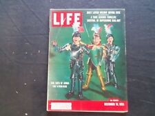 1955 DECEMBER 19 LIFE MAGAZINE - SUITS OF ARMOR FOR CHILDREN - L 986