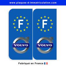 Sticker plaque volvo F (jeu de 2 stickers)
