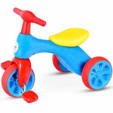 Kids Tricycle Balance Training Bike Ride on Toy Children 3-Wheel Bike Sound Seat