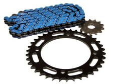 Yamaha YFZ 450, 2004-2013, Blue X-Ring Chain and 13/38 Sprocket Set - More Power