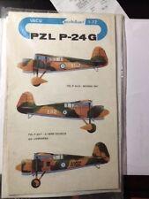 MODELLAND 1/72  PZL P-24G w/GREEK MARKINGS, NEW, RARE VACFORM  !!