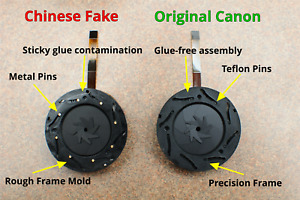 Canon EF 24-70mm f/2.8L USM Lens Aperture Diaphragm Part YG2-2062 ORIGINAL !