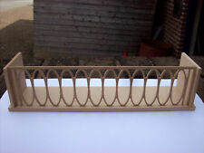 12th Scale Dolls House Balcony (Large 10 Inches Wide)