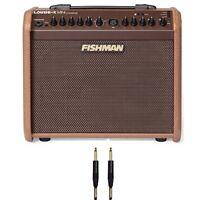 Fishman Loudbox MINI CHARGE Acoustic Guitar Vocal Amplifier + 10' Mogami Cable