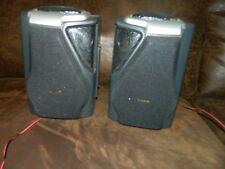 Koss Hg837 Boom Box Stereo Bookshelf Speakers 180 Degree sound
