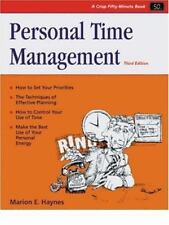 PERSONAL TIME MANAGEMENT (CRISP FIFTY-MINUTE SERIES) By Marion E. Haynes **NEW**