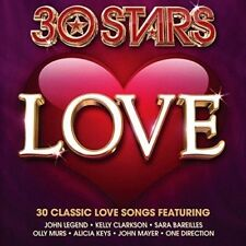 30 LOVE SONG HITS NEW 2CD Bonnie Tyler,Whitney Houston,Fugees,The Script + MORE
