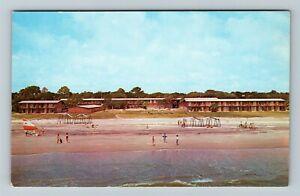 Hilton Head Island SC-South Carolina, William Hilton Inn Chrome c1964 Postcard