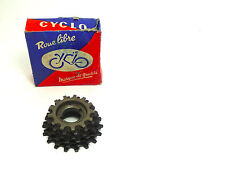 Cyclo 6 speed Freewheel 13-18 new in box Vintage Road Bike French thread NOS