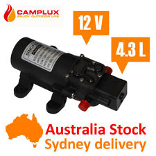 12V Self Priming Water Pump 35PSI 4.3LPM Diaphragm Caravan Boat Shower Camping