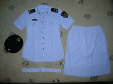 Obsolete 07's China PLA Navy Woman NCO Summer Short-sleeved Uniform,Set,(A)
