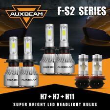 AUXBEAM H7 H7 LED Headlight H11 Fog Bulbs Combo for Mercedes-Benz B200 2006-2011