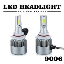 2X 9006 HB4 72W 8000LM LED Headlights Kit Conversion Lamp Beam Bulbs 6000K White
