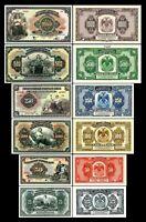 2x  25 - 1.000 Rubles - Ausgabe 1918 - 1919  - Reproduktion - 37