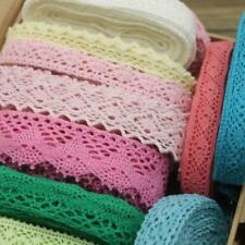 Random Lace Trim Fabrics Quality Cotton Mesh Designs Sewing Embroidered