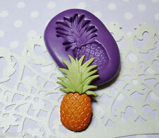 Silicone Mold Pineapple Mould (27mm) Fondant Cake Topper Sugarcraft Clay Jewelry