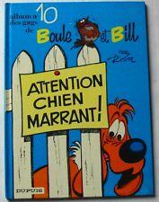 BD BOULE ET BILL - N°10 - ATTENTION CHIEN MARRANT - ROBA
