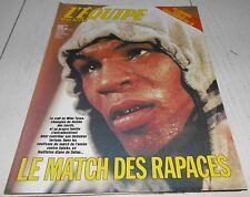 EQUIPE MAGAZINE N°373 1988 EURO 88 PAYS-BAS CORRIDA BOXE TYSON NICKOS GALLIS