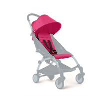 BabyZen Yoyo Pink Seat Pad and Hood   Stroller Sold Separately