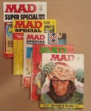 MAD Magazine Lot of 5 issues + The Nostalgic inserts GD to FN