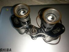 WW2 GERMAN ZEISS BINOCULARS NAMED TO SEPP DIETRICH & issue stamped plus letter