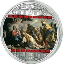 Cook 2013 $20 Masterpieces of Art Niccolo Bambini 3Oz LIMITED Silver Proof Coin