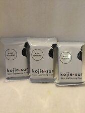 Kojie San Skin Lightening Bleaching Anti-Acne Kojic Acid Soap.3 X 45g= 135g