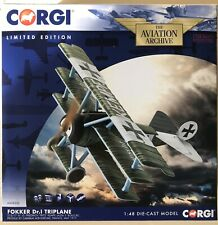 Corgi Aviation 1/48 Fokker DR.1 Triplane , Friedrich 'Fritz' Kempf 1917 AA38306