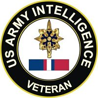 "Army Intelligence Kosovo Veteran 5.5"" Decal / Sticker"