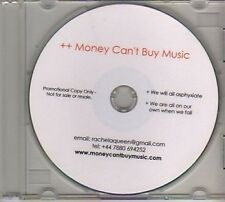 (AV756) Money Can't Buy Music, We Will All Asph - DJ CD