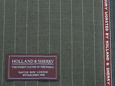 HOLLAND & SHERRY 'TARGET' SUPER 120s SUITING FABRIC 3.35MTRS