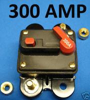 usa seller. 300 AMP 12-VOLT CIRCUIT BREAKER . FUSE 300A. getwiredusa