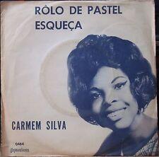 "CARMEN SILVA 1966 ""Esqueca/Rolo De Pastel"" Bossa Nova Samba PS 7"" BRAZIL 45 HEAR"