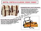 "Royal Enfield ""Light Pegasus"" Military Pannier Bags Fit for Classic 350cc 500cc"