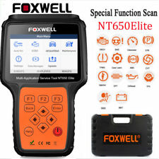 Automotive OBDII Diagnostic Scanner EPB SAS BMS DPF ABS SRS AT Oil Reset Tool