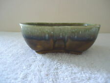 "Vintage C P Made In USA Multi Color Ceramic Planter "" BEAUTIFUL PLANTER """