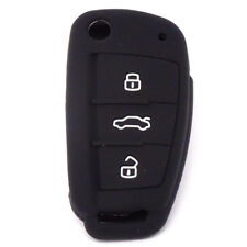 Custodia silicone guscio protettivo telecomando auto car AUDI A1 A2 A3 A4 A5 AA1