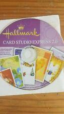 NEW Hallmark Card Studio Express 2.0 Computer Software CD-ROM 2007