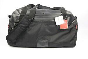 Puma Ferrari Black Perform Lux Duffel Bag