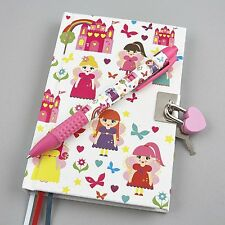 Floss & Rock Fairy Lockable Secret Diary & Bubblegum Scented Pen Girls Fun Gift