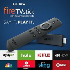 New FIRESTICK Amazon Fire TV Stick & Alexa Voice Remote Streaming Media Player