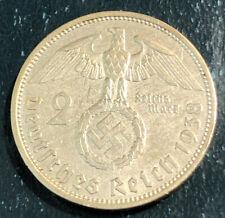 10 pfennig  with Swastika-N8 1 2 Reichsmark 5 Set of Germany 8 coins 2