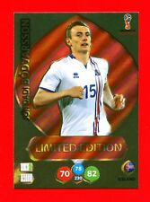 WC RUSSIA 2018 -Panini Adrenalyn-Card Limited Edition Brasil- BODVARSSON-ICELAND
