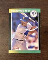 1989 Donruss Baseball's Best Ken Griffey Jr. Rookie #192 Seattle Mariners