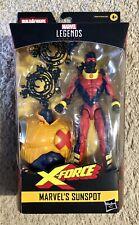 Marvel Legends Series X-Force Sunspot BAF Strong Guy