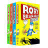 Rory Branagan Detective 4 books collection set by Andrew Clover  Ralph Lazar NEW