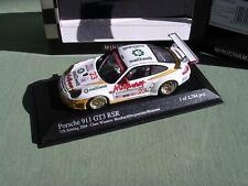 PORSCHE 911 GT3 RSR #23 TIMO BERHNARD 1e 12H SEBRING 2004 MINICHAMPS 1/43 1/2784